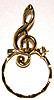 SPEC pin Treble Clef