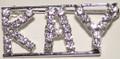 KAY crystal name pin
