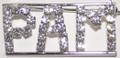 PAM crystal name pin