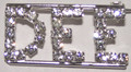 DEE crystal name pin