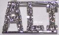 ALI crystal name pin