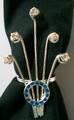 Napkin ring/scarf ring - set of 4