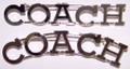 COACH metal pin