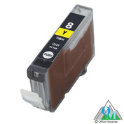 Re-manufactured Canon CLI-8 Yellow Inkjet Cartridge