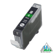 Re-manufactured Canon CLI-8 Green Inkjet Cartridge