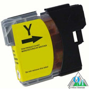 Compatible Brother LC-61 Yellow Inkjet Cartridge