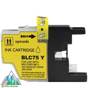 Compatible Brother LC-75 Yellow Inkjet Cartridge