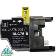 Compatible Brother LC-75 Black Inkjet Cartridge