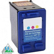 Re-manufactured Hewlett-Packard C6657AN (HP 57) Inkjet Cartridge