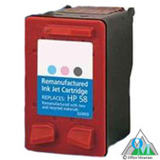 Re-manufactured Hewlett-Packard C6658AN (HP 58) Inkjet Cartridge