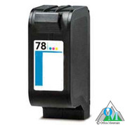 Re-manufactured Hewlett-Packard C6578DN (HP 78) Inkjet Cartridge