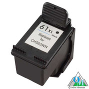 Re-manufactured Hewlett-Packard CH563WN (HP 61XL) Black Inkjet Cartridge