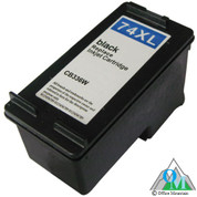Re-manufactured Hewlett-Packard CB336WN (HP74XL) Black Inkjet Cartridge