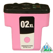 Re-manufactured Hewlett-Packard C8775 (HP 02XL) Light Magenta Inkjet Cartridge