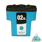 Re-manufactured Hewlett-Packard C8771 (HP 02XL) Cyan Inkjet Cartridge