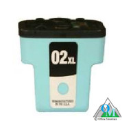 Re-manufactured Hewlett-Packard C8774 (HP 02XL) Light Cyan Inkjet Cartridge