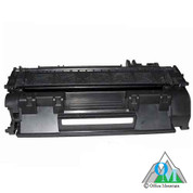 Re-manufactured Hewlett-Packard CE505X (HP 05X) Toner Cartridge