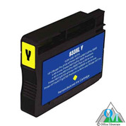 Re-manufactured Hewlett-Packard CN056AN (HP 933XL) Yellow Inkjet Cartridge