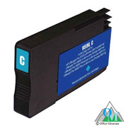Re-manufactured Hewlett-Packard CN046AN (HP 951XL) Cyan Inkjet Cartridge