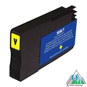 Re-manufactured Hewlett-Packard CN048AN (HP 951XL) Yellow Inkjet Cartridge