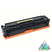 Re-manufactured Hewlett-Packard CC532A (HP 304A) Yellow Toner Cartridge