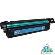 Re-manufactured Hewlett-Packard CE251A (HP 504A) Cyan Toner Cartridge