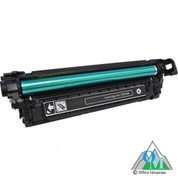 Re-manufactured Hewlett-Packard CE250A (HP 504A) Black Toner Cartridge
