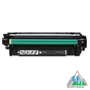 Re-manufactured Hewlett-Packard CE400A (HP 507A) Black Toner Cartridge