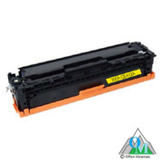 Re-manufactured Hewlett-Packard CE412A (HP 305A) Yellow Toner Cartridge
