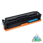 Re-manufactured Hewlett-Packard CE411A (HP 305A) Cyan Toner Cartridge