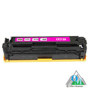 Re-manufactured Hewlett-Packard CF213A (HP 131A) Magenta Toner Cartridge