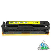 Re-manufactured Hewlett-Packard CF212A (HP 131A) Yellow Toner Cartridge