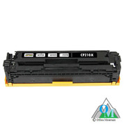 Re-manufactured Hewlett-Packard CF210X (HP 131X) Black Toner Cartridge