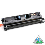 Re-manufactured Hewlett-Packard Q3961A (HP 122A) Cyan Toner Cartridge