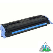 Re-manufactured Hewlett-Packard Q6001A (HP 124A) Cyan Toner Cartridge