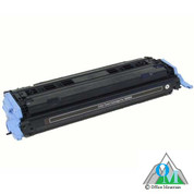 Re-manufactured Hewlett-Packard Q6000A (HP 124A) Black Toner Cartridge