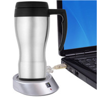 USB Powered Cup Mug Warmer iessentials IE-CW1