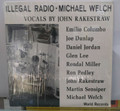 Michael Welch - Illegal Radio: Various Artists - LP (USED)