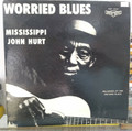 Mississippi John Hurt - Worried Blues - LP (USED)