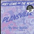 "Huey Lewis - Plansville - 7"" Vinyl"