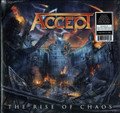 Accept - The Rise of Chaos - Blue w/Red Splatter LP