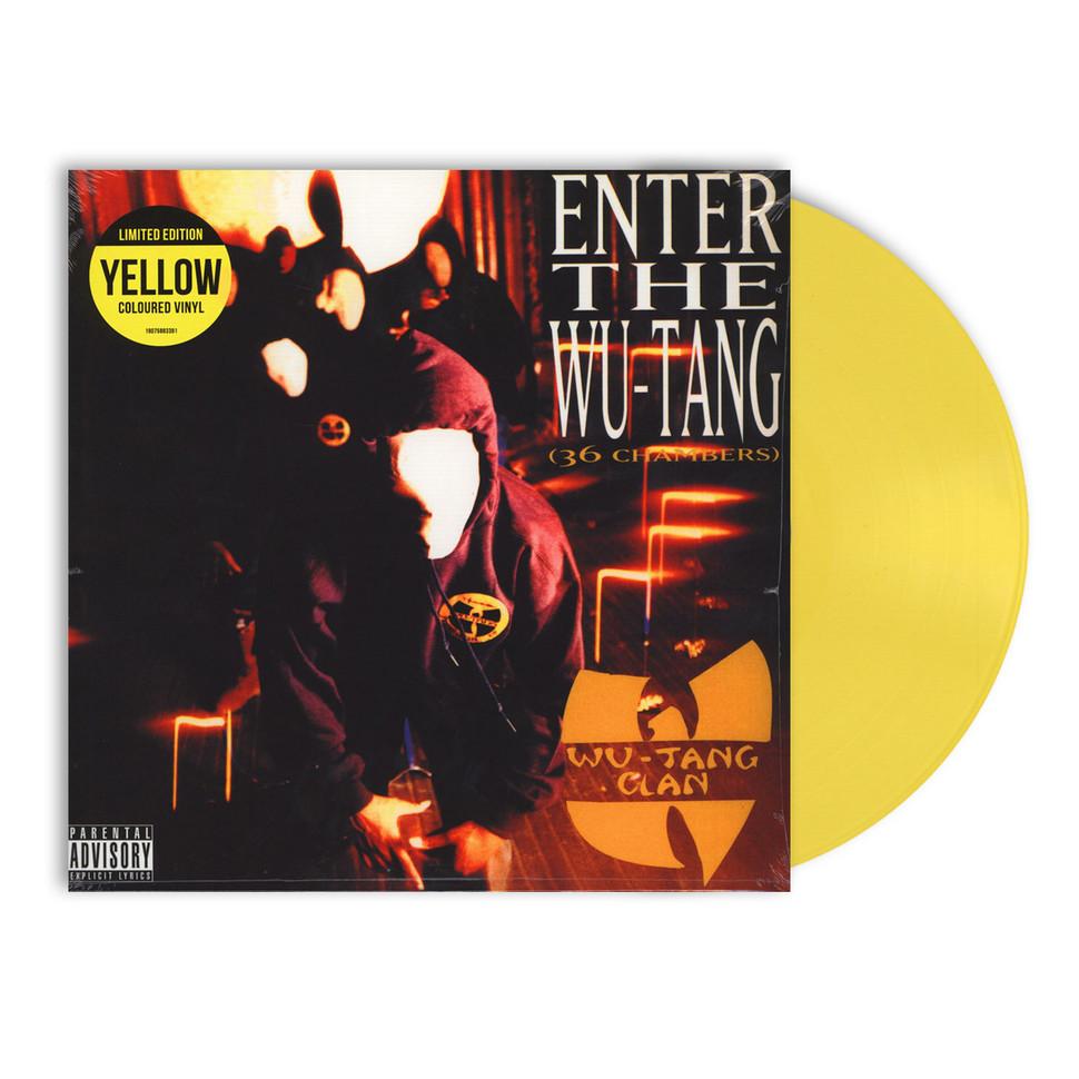 Wu Tang Clan Enter The Wu Tang 36 Chambers Yellow Vinyl Lp We Got The Beats