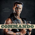 Commando - OST - James Horner - LTD Bone & Eyeblack Splatter Vinyl