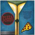 "Teenage Mutant Ninja Turtles - Pizza Power Single - 7"" Vinyl"