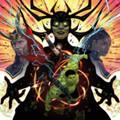 Thor: Ragnarock (Mark Mothersbaugh) - OMPS - Mondo Thor v. Hulk (Red/Clear Splatter and Green Splatter) Vinyl 2xLP