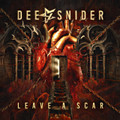 Dee Snider of Twisted Sister - Leave a Scar - Indie Exclusive Red Vinyl - LP