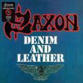 Saxon - Denim and Leather - Indie Exclusive Red & Black Splatter Vinyl - LP