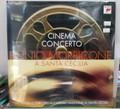 Ennio Morricone - Cinema Concerto: A Santa Cecilia - LP - (USED w/ Bumped Corner)