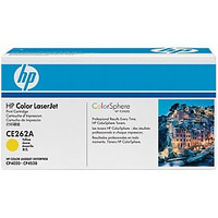 HP CE262A #648A Series Yellow Toner