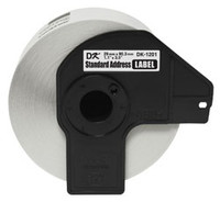 "Brother DK1201 1-1/7"" x 3-1/2"" Die-Cut Standard Address Labels"